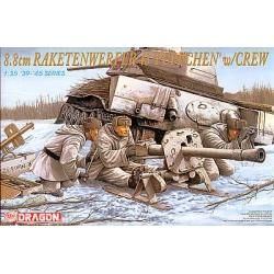 88 mm Raketenwerfer Puppchen with crew